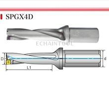 Extraordinary SPGX4D rapid drill for SP insert
