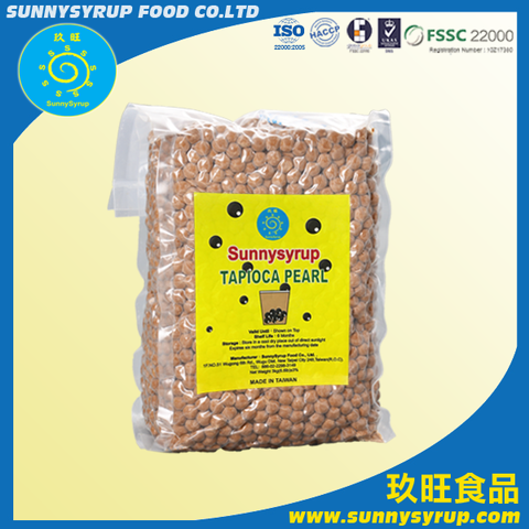 Best Selling Tapioca Pearl Taiwan Bubble Tea Supplier Sunnysyrup