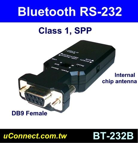 Class 1 Bluetooth RS-232 adapter, Bluetooth RS232