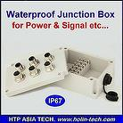 Waterproof Connection Box, Plastic Injection , Custom Made Available