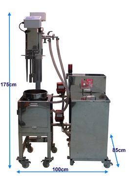 Rapid cooling machine