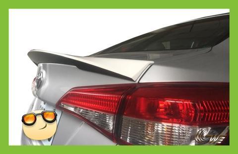 Taiwan 2018 Toyota Vios Rear Spoiler Wing(BMW Type)   GOLDEN