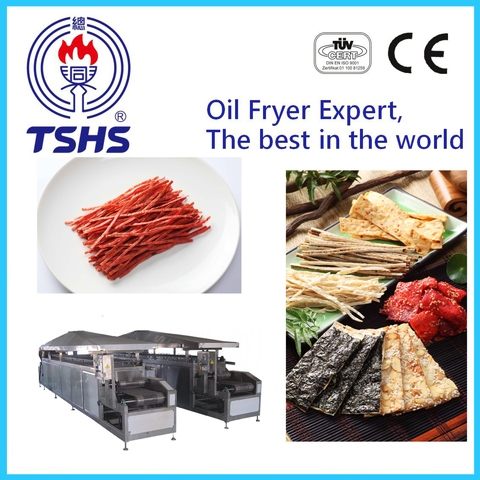New Product Whole Automatic Industrial Fish Shred Equipment