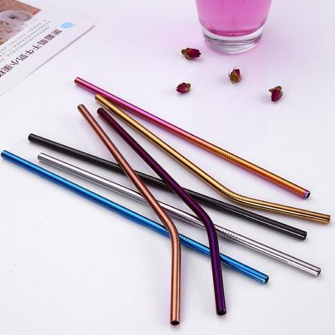 Custom Logo Stainless Steel Straw
