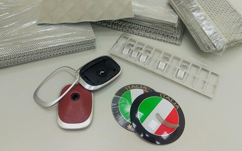 Metal Badge & surface treatment.