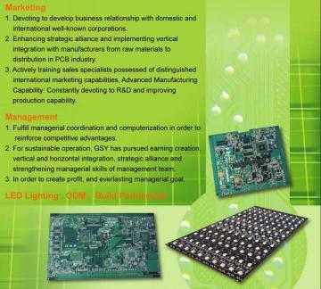 Taiwan Rigid PCB,Assembly,LED Lighting   Taiwantrade