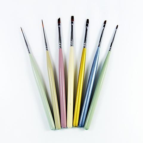 Artam colorful LED/UV Gel Nail Art Brush