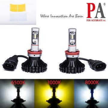 Headlight Conversion Kit H8 H9 H11 80W 6000LM All in one