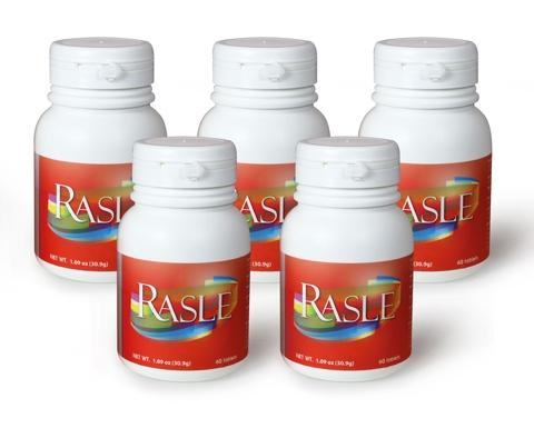 Rasle Set A, Improves the Autoimmune Response Regulation. Increases Antioxidant Levels for long term.
