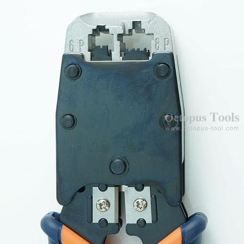 Crimping Tool 8P8C/6P6C, A Wire Stripper Included