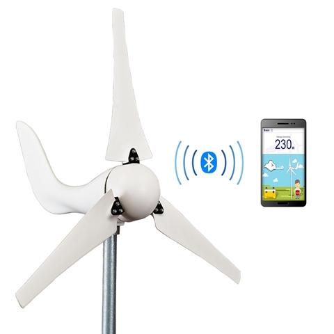 Taiwan Bluetooth Wind Turbine (DB-400) | Taiwantrade