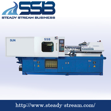 Standard Plastic Injection Molding Machine 520 tons.