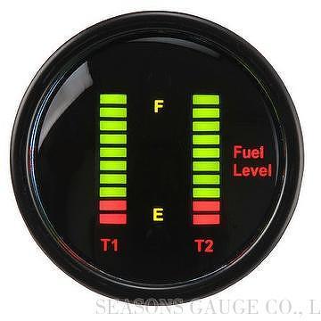 Taiwan Digital Dual Fuel Level Gauge Seasons Gauge Co Ltd