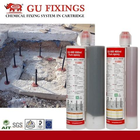 Injection Mortar Marble Granite Adhesive For Glue To Metal