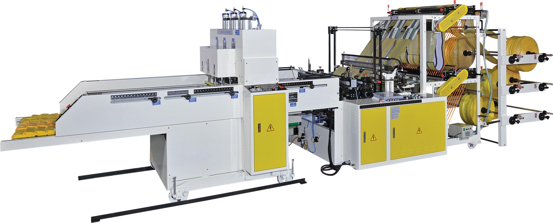 6 LINES T-SHIRT BAG MACHINE