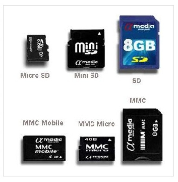 Memory Cards SD Mini Micro MMC Mobile