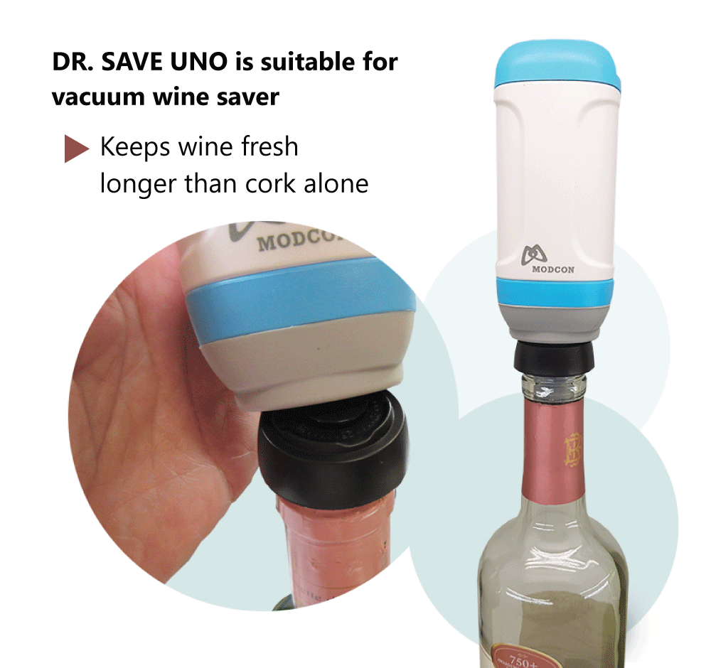 DR. SAVE UNO is suitable for many vacuum saver on the market.