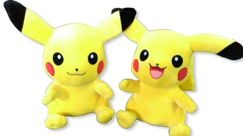 Custom authorized plush pikachu stuffed animal toy