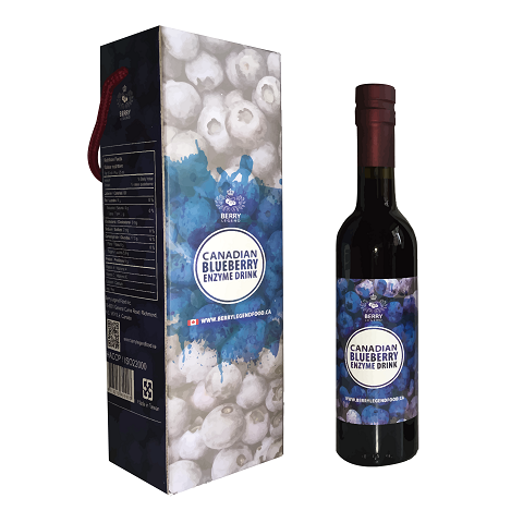 Blueberry Enzyme Drink 375ml