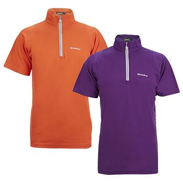 Taiwan Snowbee Stand Up Collar Polo Shirt Golf Wear Sport