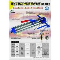 IRON MAN TILE CUTTER SERIES
