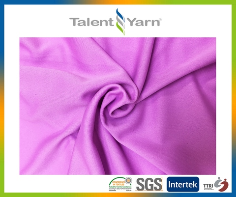 Odor free cooling nylon functional knitting fabric