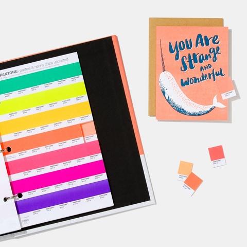 PANTONE粉彩色&霓虹色-光面銅版紙膠版紙 GB1504A