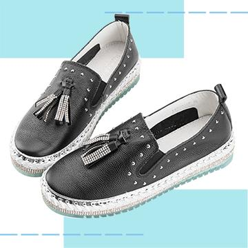 【Robinlo & Co.】Asple Black_Flat Shoes,Platform shoes