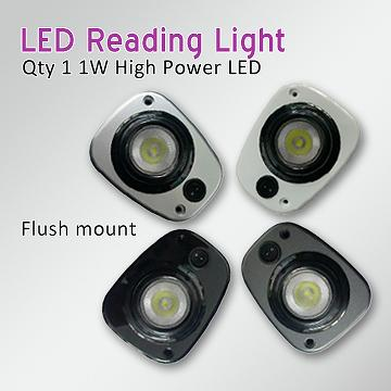 RV Eyeball LED Interior Reading Light Map Light Cabin Light Recess Mount  Flush Mount Motorhome Caravan