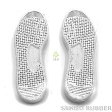 Recycled Rubber Soles white