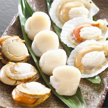 Taiwan Live /frozen abalone, Frozen scallop, frozen locos, frozen