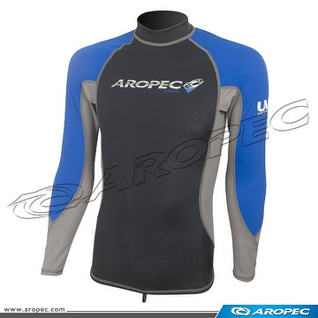 Lycra Long Sleeve Rash Guard for Man, Rash Guard