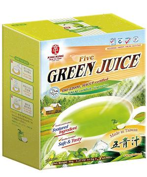 KingKung: Five Green Juice, powdered beverage mix(pack of 3)