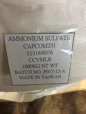 Core Chemical Ammonium Sulfate,