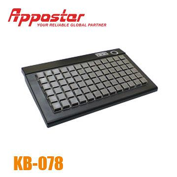 Appostar Programmable Keyboard KB078 Front View
