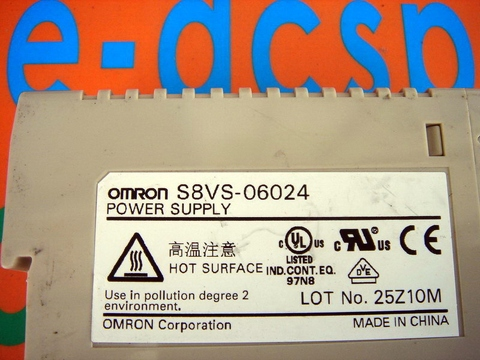 OMRON S8VS-06024 POWER SUPPLY