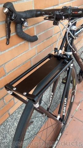 Adjustable Aluminum Pannier Front Luggage Rack