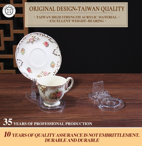 Taiwan CPL Coffee Cup Display Stands Coffee Cup And Saucer Display Interesting Coffee Cup Display Stands