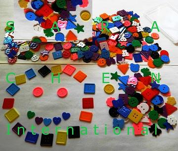 ART & CRAFT SMALL BUTTONS (DIY SMALL BUTTONS)