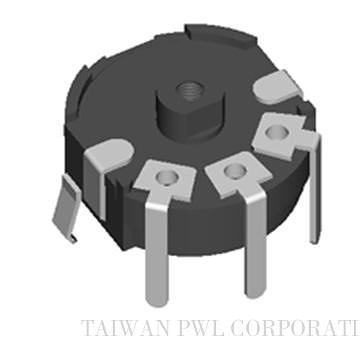Thin Rotary Knob Type Potentiometers