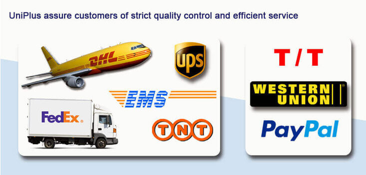 Uniplus-product payment and delivery