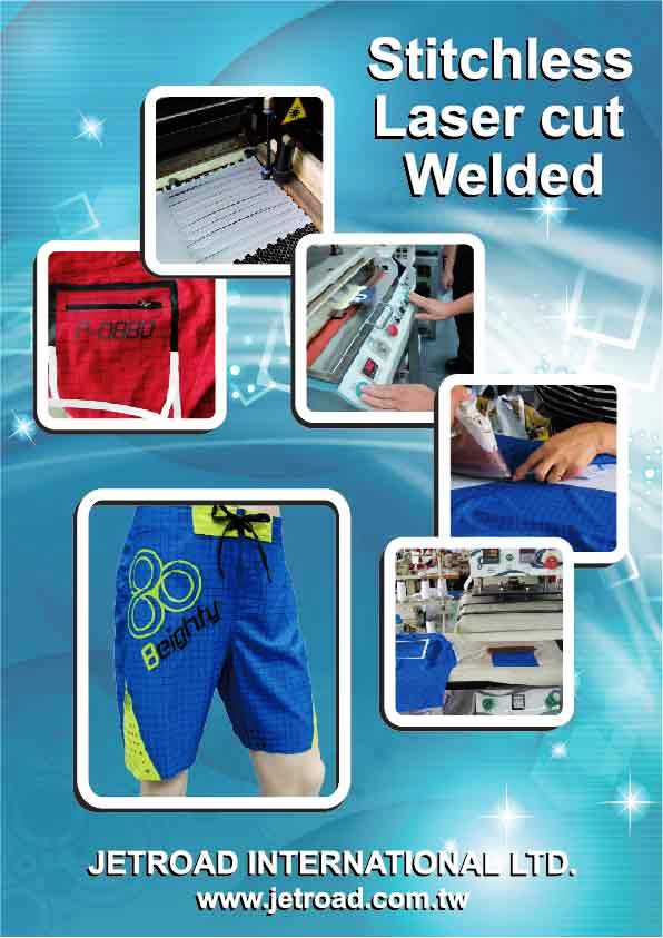 Welded Boardshorts processing