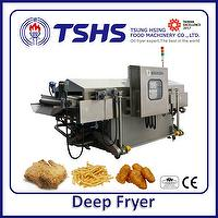 Industrial Continuous Stainless Steel Fish Deep Fryer