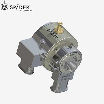 two core wire cable extrusion crosshead