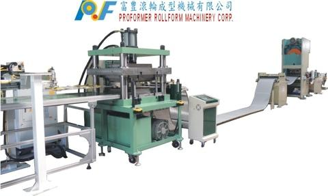 Fully Automatic Aluminum Ceiling Tiles Forming Machine