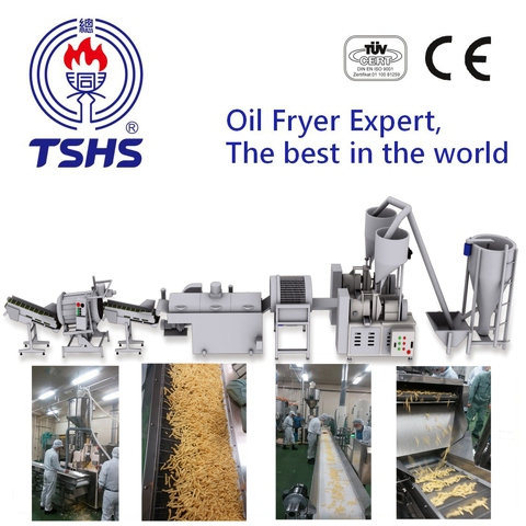 2017 Taiwan Industrial Automatic Cheetos Fried Extruder