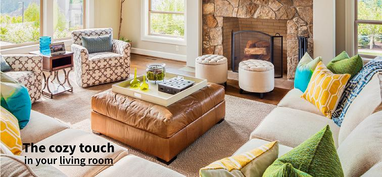 The Cozy Touch in your living room