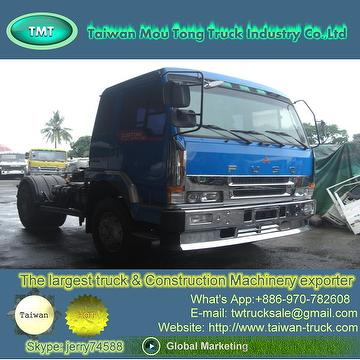 Taiwan Used Fuso Trailer tractor truck head [ 6D22, Engine, Spar