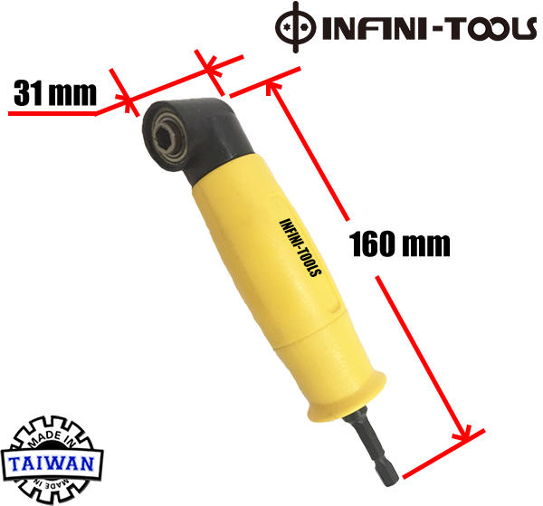 90 Degree Drill Bit Holder Right Angle Extension Driver Electric Screwdriver