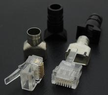 Modular Plugs Cat-6 RJ45 Short Shading